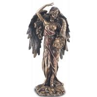 Statuette DÉESSE DE LA FORTUNE 28 cm effet bronze