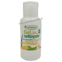 GEL Hydro Alcoolique BIO aux Huiles essentielles Phytofrance nettoyant désinfectant pour les mains