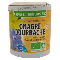 Capsules d'huile d'ONAGRE BOURRACHE Phytofrance