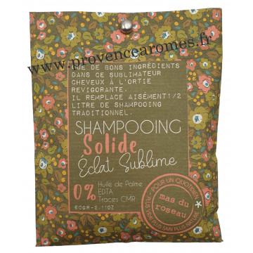 Shampooing solide éclat sublime à l'ortie revigorante Mas du roseau