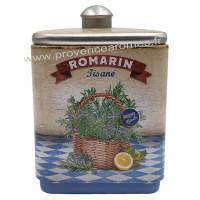 Romarin tisane de Provence Boîte empilable déco rétro Esprit Provence