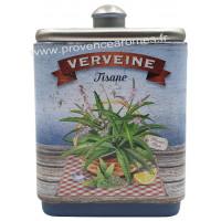 Verveine tisane de Provence Boîte empilable déco rétro Esprit Provence