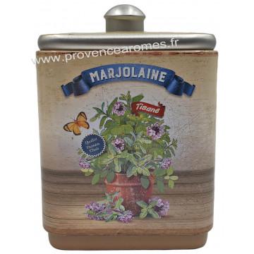 Marjolaine tisane de Provence Boîte empilable déco rétro Esprit Provence