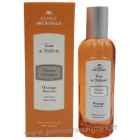 Eau de toilette FLEUR D'ORANGER 100 ml Esprit Provence