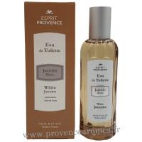 Eau de toilette JASMIN BLANC 100 ml Esprit Provence