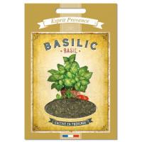 Basilic de Provence Recharge 15 gr pour Boîte saupoudreur déco rétro Esprit Provence