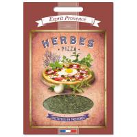 Herbes Pizza 25 gr pour boîte saupoudreur déco rétro Esprit Provence