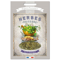 Herbes Poisson de Provence 40 gr Recharge pour Boîte saupoudreur déco rétro Esprit Provence