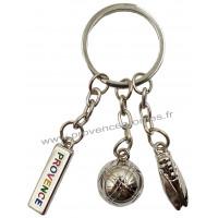 Porte clés Breloques Provence Cigale et boule de pétanque