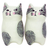Set Sel/Poivre CHAT BLANC
