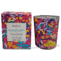 Bougie parfumée Iris Patchouli Baïja Delirium Floral collection