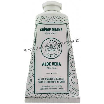 Crème mains ALOÉ VÉRA et LAIT D'ÂNESSE Bio 50 ml