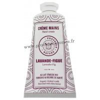 Crème mains Lavande Figue au LAIT D'ÂNESSE Bio 50 ml