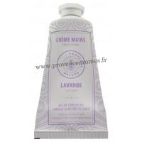 Crème mains Lavande au LAIT D'ÂNESSE Bio 50 ml