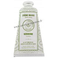 Crème mains Verveine au LAIT D'ÂNESSE Bio 50 ml