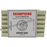 Shampoing Solide Cheveux gras au lait d'ânesse BIO