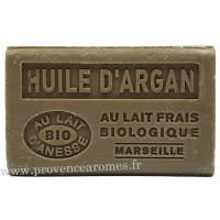 Savon Huile d'argan et lait d'ânesse frais Bio 125 gr