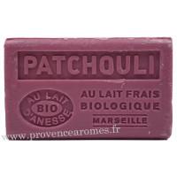 Savon Patchouli au lait d'ânesse frais Bio 125 gr