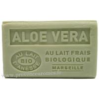 Savon Aloé Véra au lait d'ânesse frais Bio 125 gr