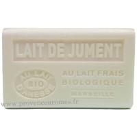 Savon Lait de Jument au lait d'ânesse frais Bio 125 gr