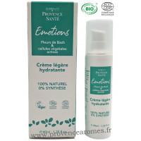 Crème légère Hydratante cellules végétales actives et fleurs de Bach Elixir & Co