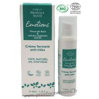 Crème fermeté anti-rides cellules végétales actives et fleurs de Bach Elixir & Co