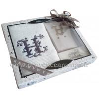 Coffret cadeau personnalisé initiale lettre H