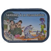 Sardines à la pissaladière - La bonne mer - Ferrigno