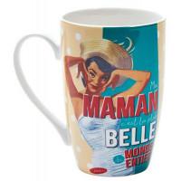 Mug MA MAMAN C'EST LA PLUS BELLE Natives déco rétro vintage