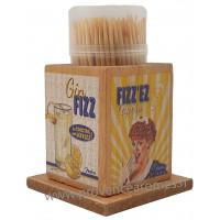 Boîte à Cure dents GIN FIZZ Natives déco rétro vintage