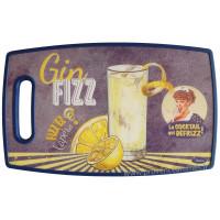 Planche à découper GIN FIZZ Natives déco rétro vintage