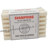 Shampoing Solide Tous Types de Cheveux au lait d'ânesse BIO
