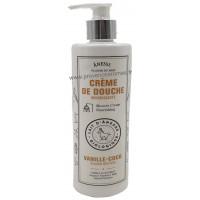 Crème de douche Vanille Coco au lait d'ânesse BIO