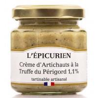 Crème d'Artichauts à la Truffe du Périgord L'épicurien - 100g