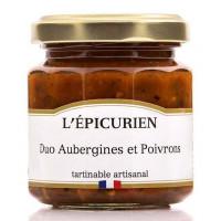Duo Aubergines et Poivrons L'épicurien - 100g