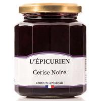 Confiture de Cerise noire L'épicurien - 330g