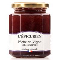 Confiture de Pêche de vigne L'épicurien - 330g