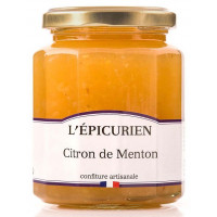 Confiture de Citron de Menton L'épicurien - 330g