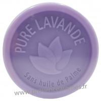 Savon PURE LAVANDE 100 gr sans huile de Palme Esprit Provence