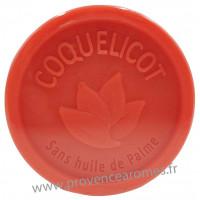 Savon COQUELICOT 100 gr sans huile de Palme Esprit Provence