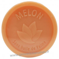 Savon MELON 100 gr sans huile de Palme Esprit Provence