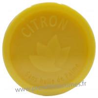Savon CITRON 100 gr sans huile de Palme Esprit Provence