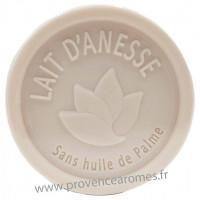 Savon LAIT D'ÂNESSE Bio 100 gr sans huile de Palme Esprit Provence