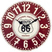 Horloge ROUTE 66 NATIONAL HISTORIC HIGHWAY déco rétro vintage