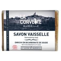Savon de Marseille Vaisselle La Corvette 100% Naturel 200gr