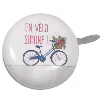 Sonnette vélo ou trottinette EN VELO SIMONE