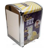 Distributeur de serviettes GIN FIZZ Natives déco rétro vintage