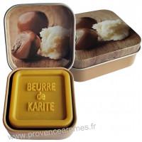 Boîte et savon d'invité au Beurre de Karité Bio Esprit Provence