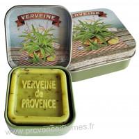 Boîte et savon d'invité Verveine de Provence Esprit Provence