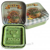 Boîte et savon d'invité Thym de Provence Esprit Provence